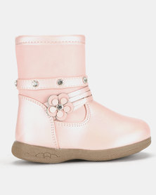 Rock & Co Chip Light Boots Pink