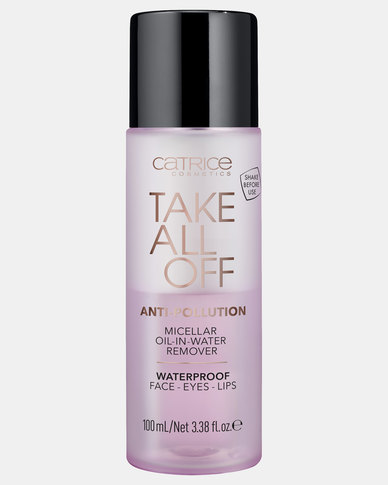 Catrice 010 Take All Off Anti-Pollution Micellar Oil-in-Water Remover