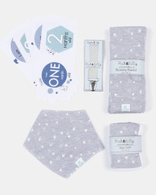 Pickallily Welcome Little One Gift Set Grey