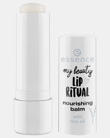 Essence 02 My Beauty Lip Ritual Nourishing Balm Clear
