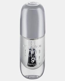 Essence 01 Shine Last & Go! Gel Nail Polish Clear