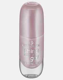 Essence 06 Shine Last & Go! Gel Nail Polish Metallic Pink