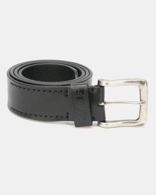 Soviet Juno Genuine Leather Belt Black