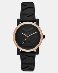 DKNY Soho watch black