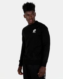 Lotto Performance M Crew Neck Smart Sweatshirt Black
