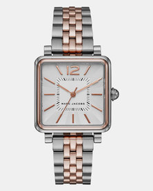 Marc Jacobs Vic Watch Silver and Gold