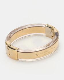 Michael Kors Hinge Bracelet Gold