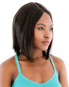 Spice Girls Brazilian 101 Straight Bob Lace Front Wig 1B