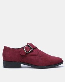 Butterfly Feet Dyanna Slip On Shoe Burgundy
