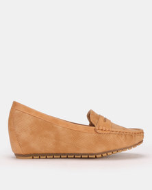 Butterfly Feet Guccy Wedge Brown