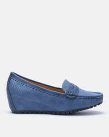 Butterfly Feet Guccy Wedge Navy