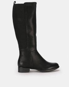 Butterfly Feet Huda 2 Boots Black
