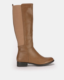 Butterfly Feet Huda 2 Boots Taupe