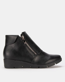 Butterfly Feet Isaad Boots Black