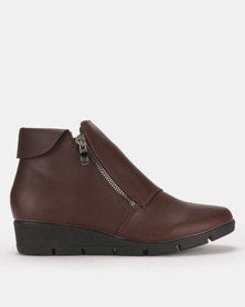 Butterfly Feet Isaad Boots Brown
