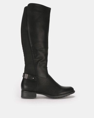 Butterfly Feet Izzy 2 Boots Black