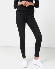 New Look 'Lift & Shape' Skinny Jeans Black