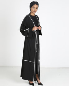 Valenci Brooklyn Abaya Black