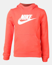 Nike B NSW PO Hoodie Club Fleece HBR Hoodie Orange
