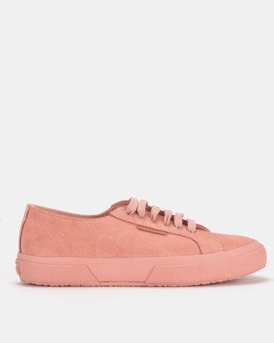 Superga Full Suede Classic Total Pink Peach