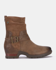 Catepillar Showdown Boots Brown