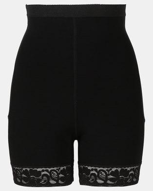Easy Curves Shaper Bum Padded Shorts Black