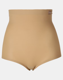 Easy Curves Shapewear Padded Highwaisted Panty Nude