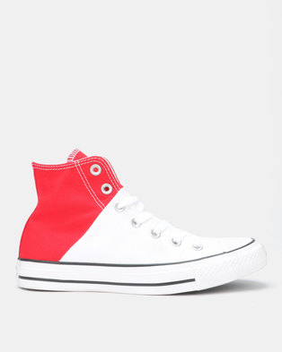 more photos 74b8d 0c599 Converse Chuck Taylor All Star HI-Top Red White Enamel Red