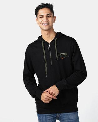 factory price 8c7ce 92485 Lizzard Bark Pullover Sweatshirt Hoody Black