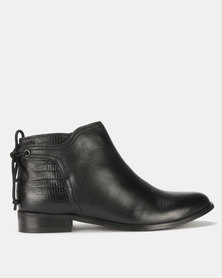 Step On Air Meeka Leather Ankle Boots Grey