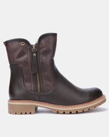 Bronx Women Jess Ankle Boots Choc