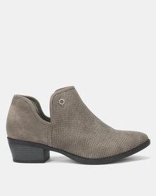 Bronx Women Dana Ankle Boots Grey