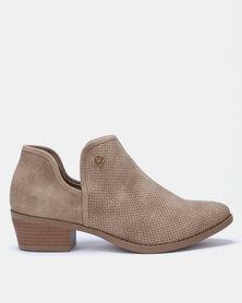 Bronx Women Dana Ankle Boots Beige
