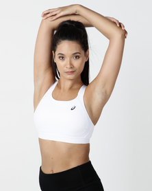 ASICS Zero Distinction Bra White