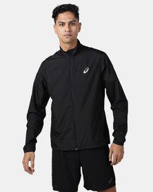 ASICS Silver Jacket Black