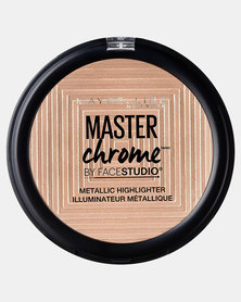 100 Molten Gold Master Chrome Metal Highlighter by Maybelline