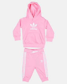 adidas Originals Trefoil Hoodie Set Pink