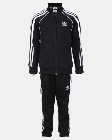 8ce860373d adidas Originals Superstar Suit Black