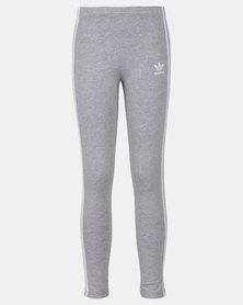 adidas Originals 3 Stripes Leggings Grey