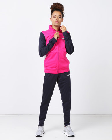 d2ee7bb1 adidas Performance Womens Tracksuit Plain Tricot Multi | Zando