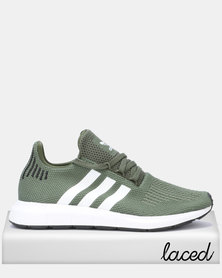 adidas Originals Swift Run W BASGRN/FTWWHT/CBLACK
