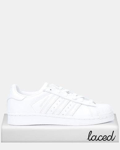 adidas Originals Superstar W FTWWHT/FTWWHT/GREONE
