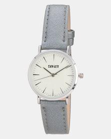 Soviet Ladies PU Strap Watch Grey