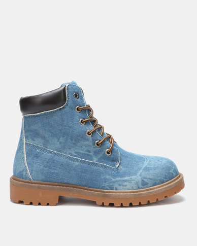 Pierre Cardin 00210 Denim Boots