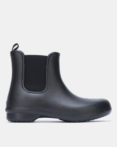 Crocs Freesail Chelsea Boots Black