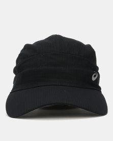 ASISCS Lightweight Running Cap Black