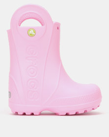 Crocs Handle It Rain Boot Kids Cntn Pink