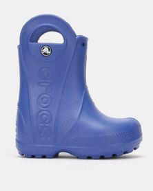 Crocs Handle It Rain Boot Kids CrBl Blue