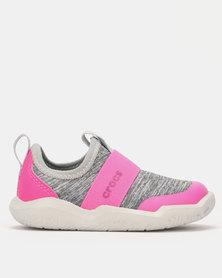 Crocs Swiftwater EasyOn Hthr Shoe Pink