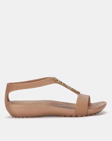 Crocs Crocs Serena Embellish Sandal Bronze